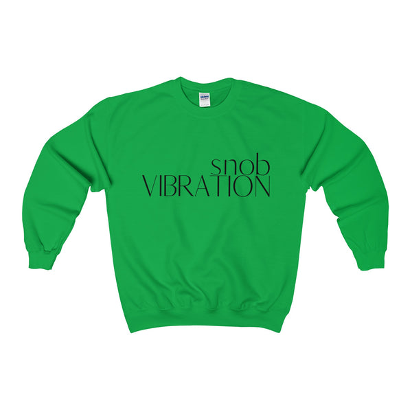 Vibration Snob - Unisex Soft Heavyweight Crew Neck Sweatshirt