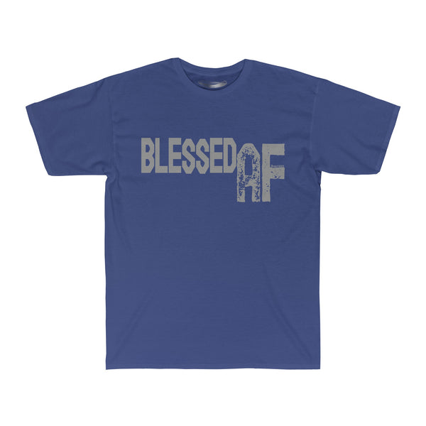 Blessed AF - Men's Ringspun Cotton Crew Neck Surf Tee