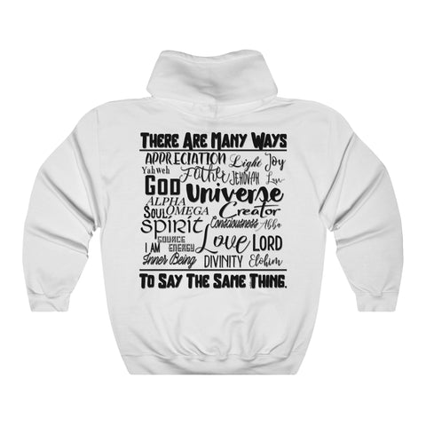 Many Ways - Unisex Hooded Sweatshirt