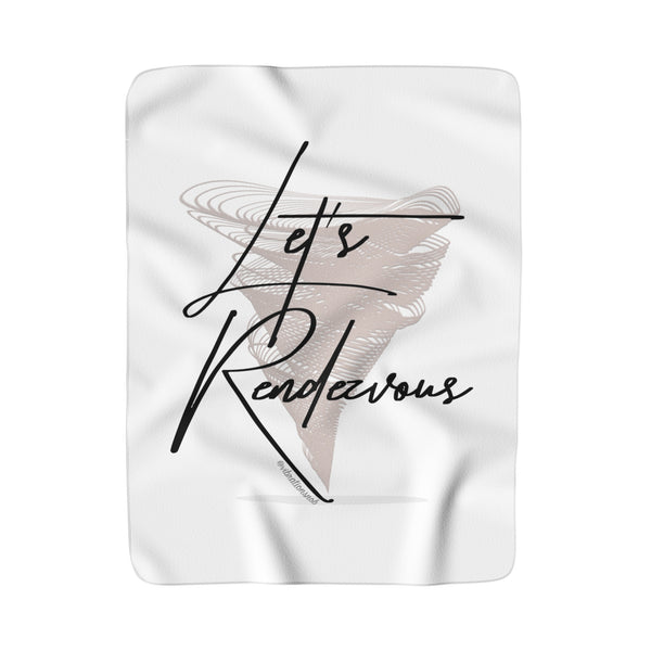 Let's Rendezvous - Sherpa Fleece Blanket