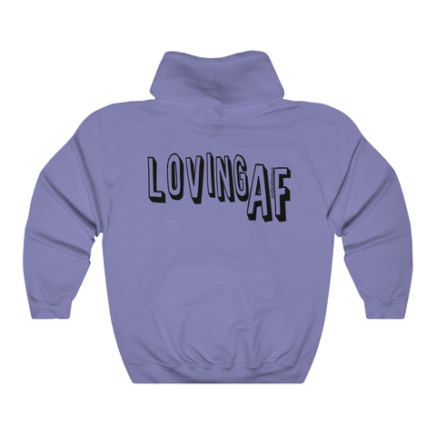 Loving AF - Unisex Heavy Blend Hooded Sweatshirt
