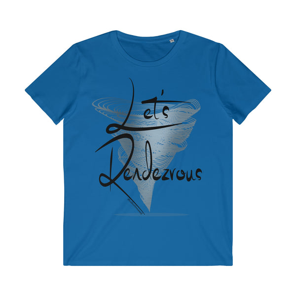Let's Rendezvous - Men's Organic Cotton Crew Neck T-Shirt
