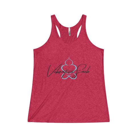 Vibration Snob Logo - Women's Fitted Tank