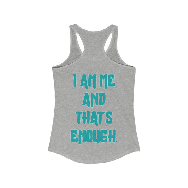 Softball Sisters | I Am Me | Racer Tank