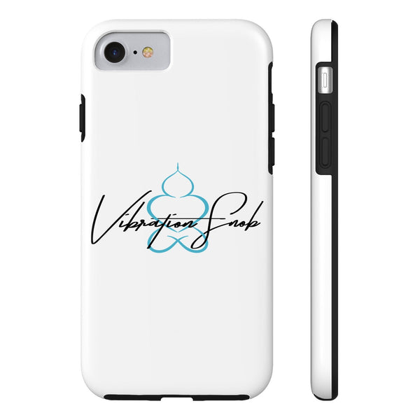 Vibration Snob Logo - Tough iPhone Case 7/8