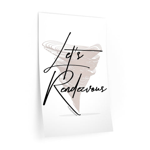 Let's Rendezvous - Wall Decals