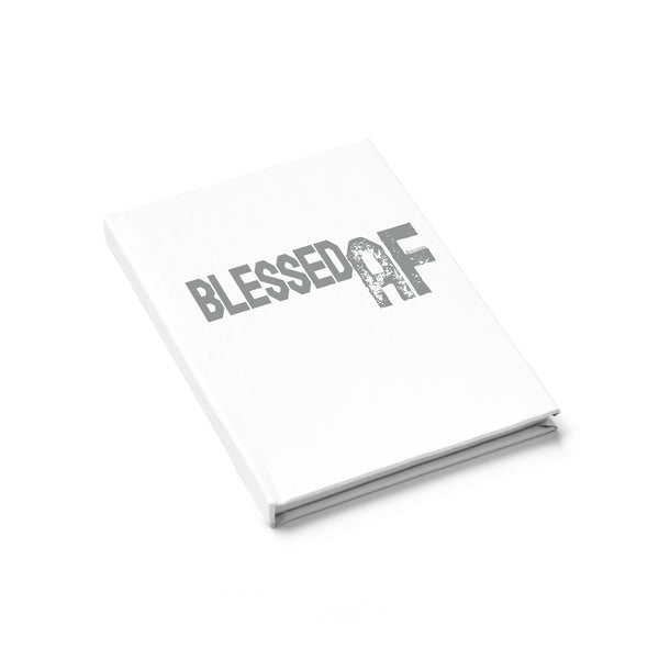 Blessed AF - Journal Ruled Line