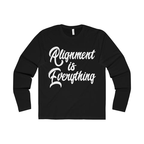 Alignment Is Everything - Men's Premium Long Sleeve Crew
