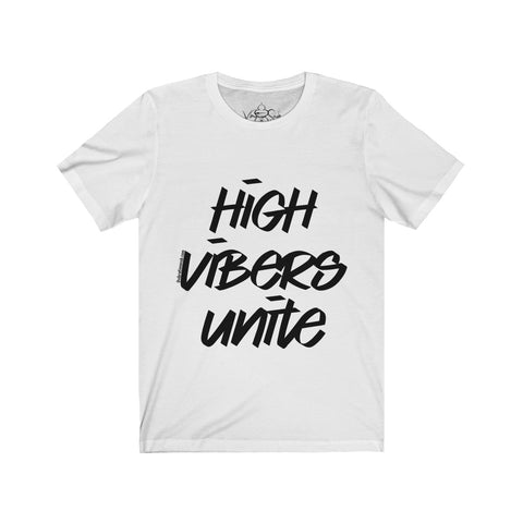 High Vibers Unite - Men's Jersey Short Sleeve Tee