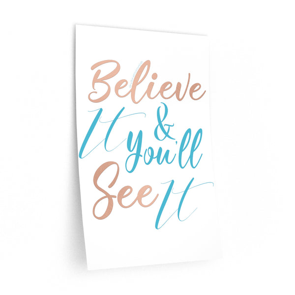 Believe It - Wall Decals