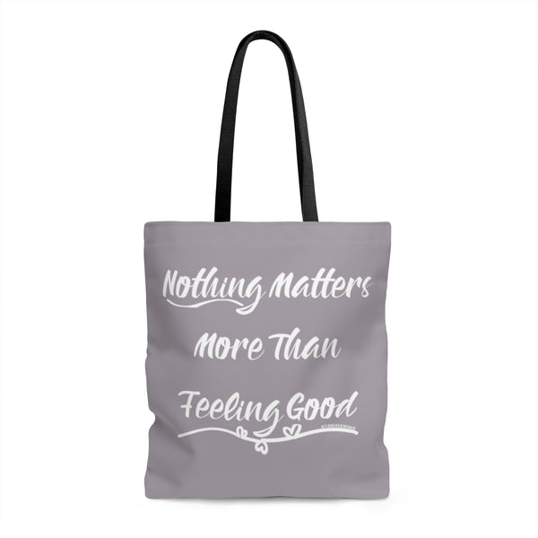 Nothing Matters More & Vibration Snob Logo - Tote | 3 sizes