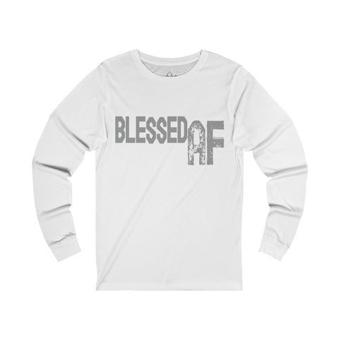 Blessed AF - Men's Jersey Long Sleeve Tee