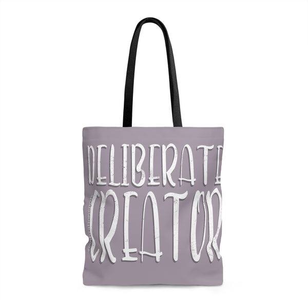 Deliberate Creator - Tote Bag | 3 Sizes
