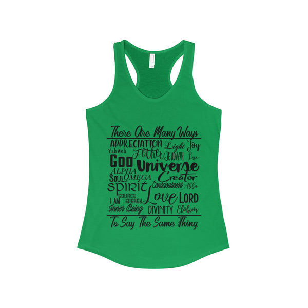 Many Ways - Women's Racerback Tank