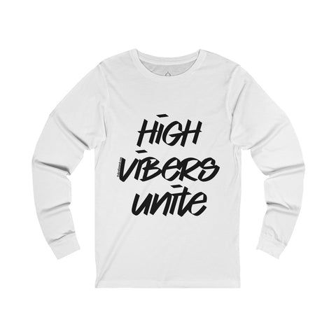 High Vibers Unite - Men's Jersey Long Sleeve Tee