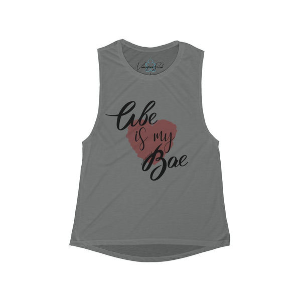 Abe Is My Bae - Women's Flowy Scoop Muscle Tank
