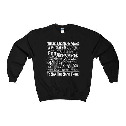 Many Ways - Men's Crewneck Sweatshirt