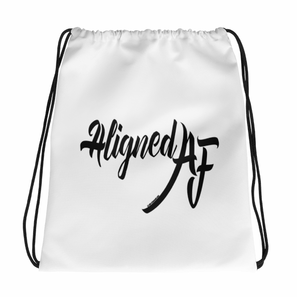 Aligned AF - Drawstring Bag