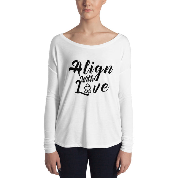 Align With Love - Women's Long Sleeve Tee