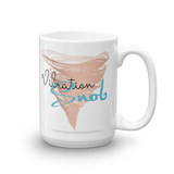 Loving AF and Vibration Snob Logo - Mug