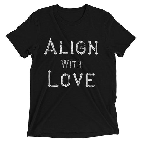 Align With Love - Men's Short Sleeve Tee