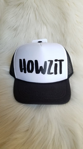 HOWZIT YOUTH TRUCKER HAT
