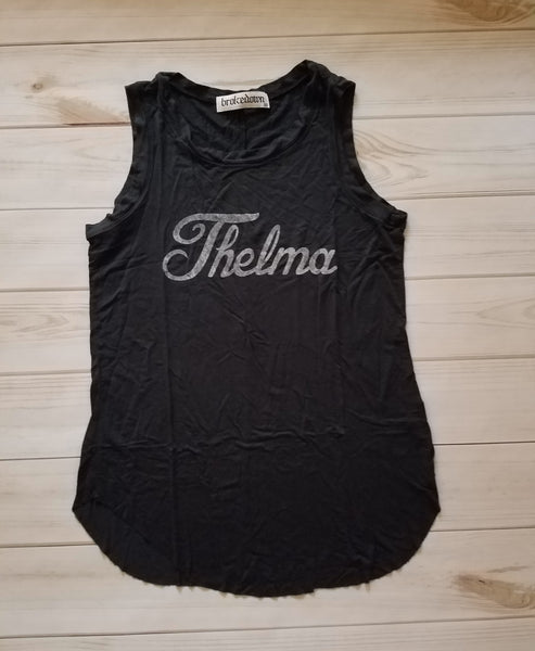 ADULT THELMA DRAPED TANK
