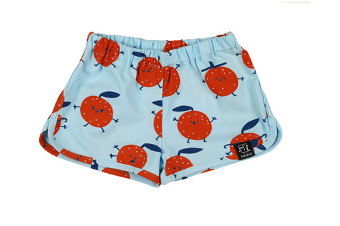 SHORTS - LIGHT BLUE ORANGES