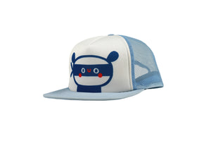 TRUCKER HAT - LIGHT BLUE PANDA
