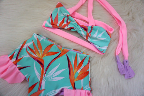 REVERSIBLE MAYA SET - TROPICAL DREAMS BIKINI
