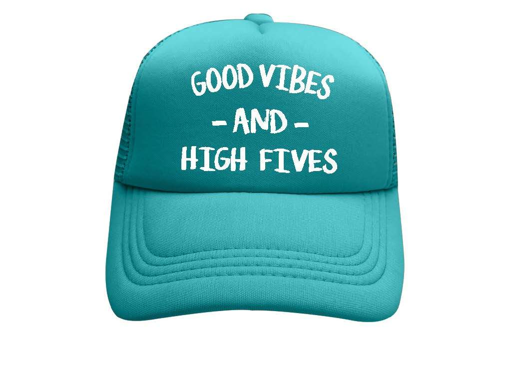 Good Vibes Toddler Trucker Hat