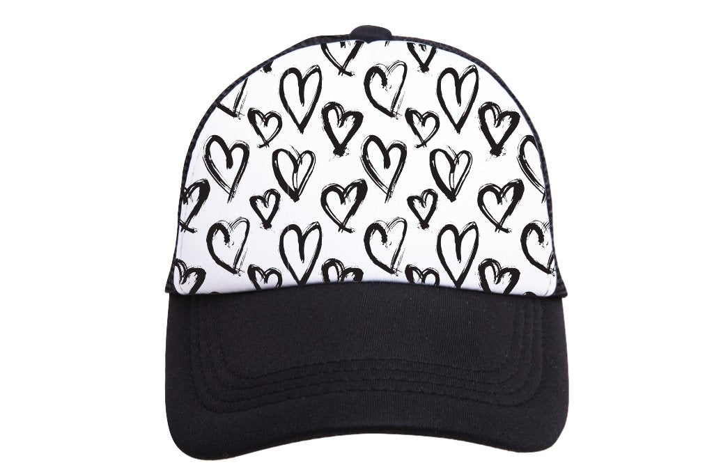 Hearts Trucker Hat