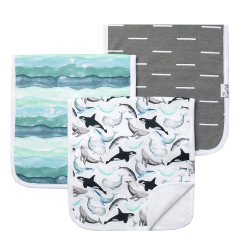 Waves Burp Cloth
