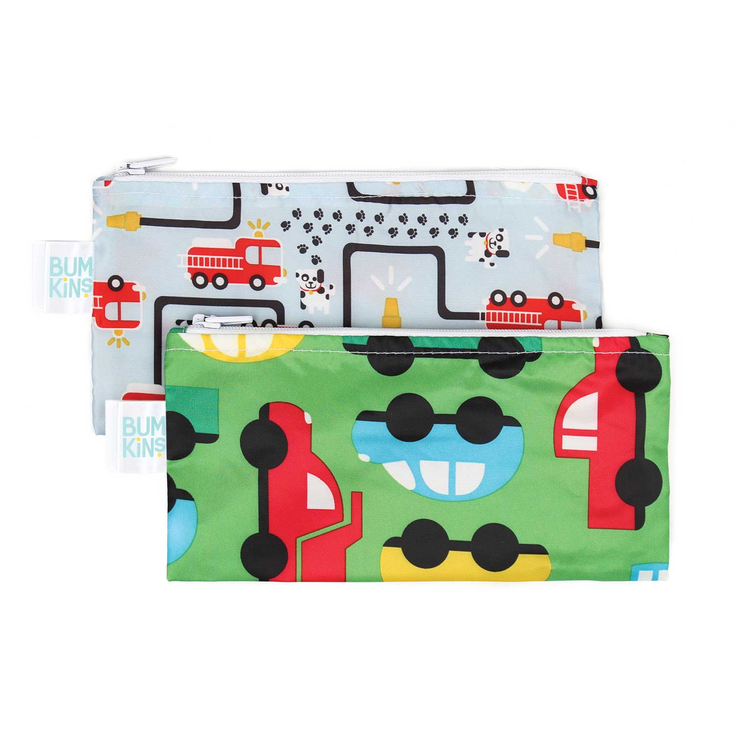 FIRE ENGINE/TRUCK - SMALL SNACK BAG 2PK