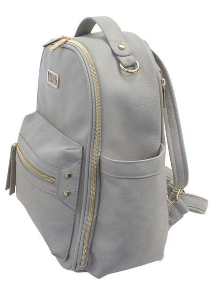 Gray Mini Diaper Bag