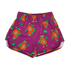 SHORTS - PAPAYA POWER