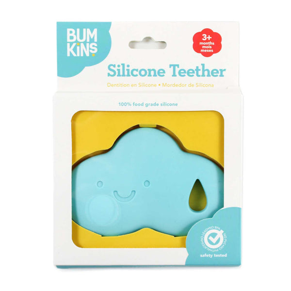 RAIN CLOUD - SILICONE TEETHER