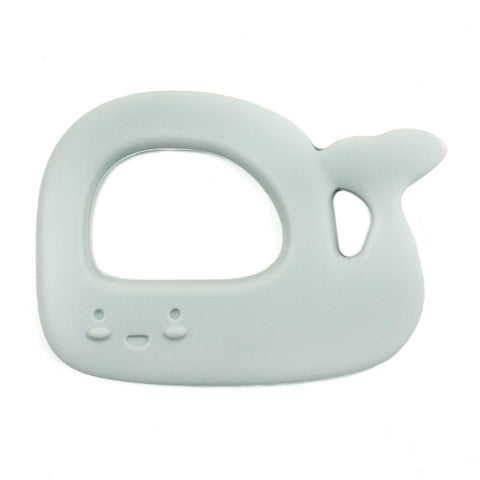 WHALE - SILICONE TEETHER