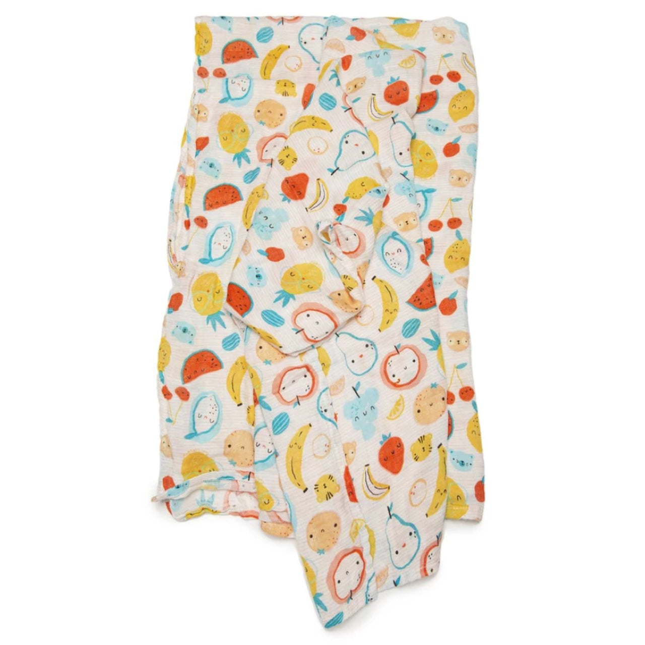 Cutie Fruits Muslin Swaddle Blanket
