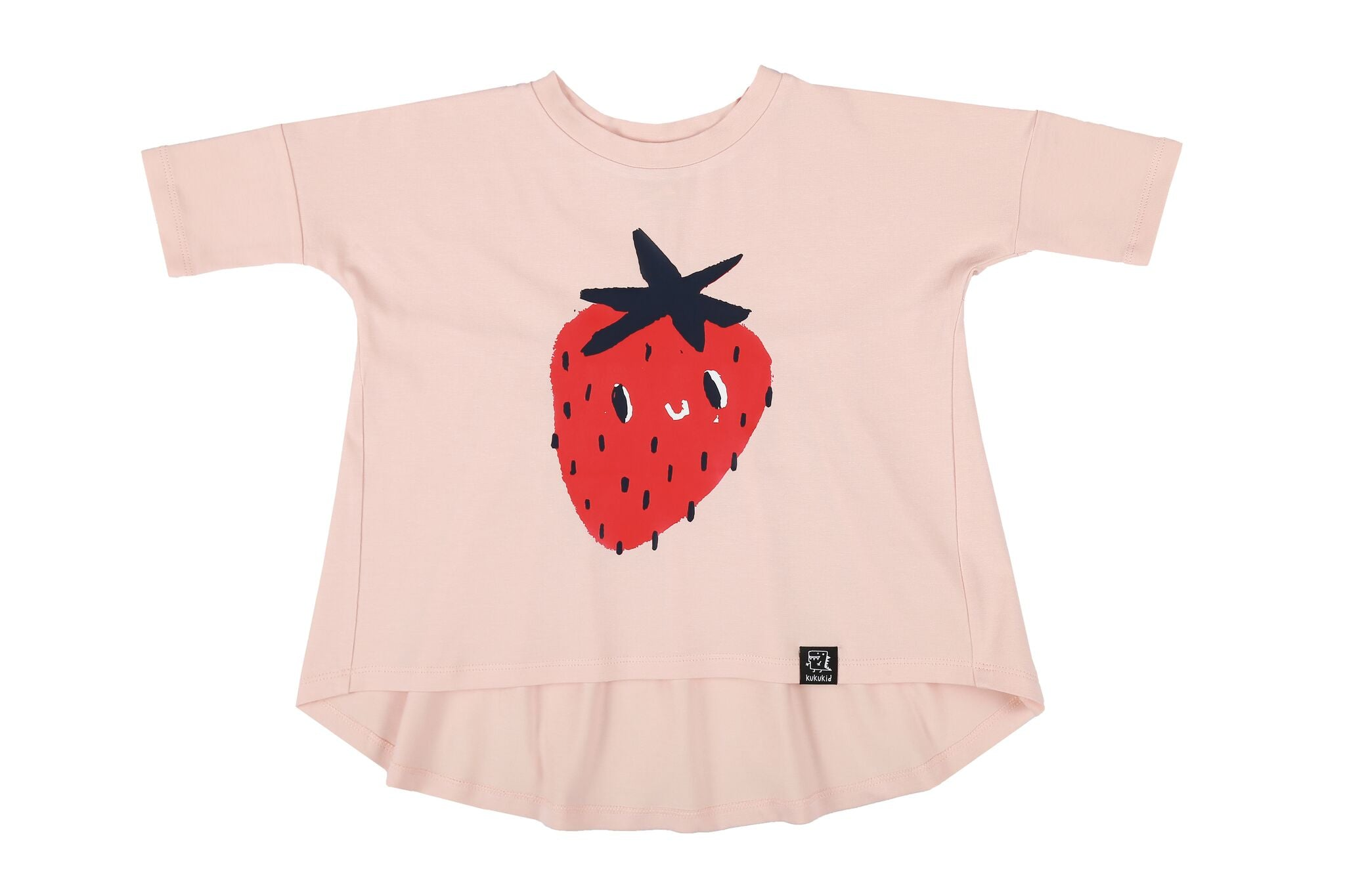 FUNKY STRAWBERRY - OVER SIZED TUNIC