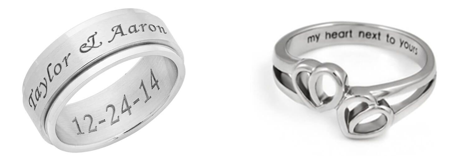 promise ring sets for couple from gardeniajewel.com