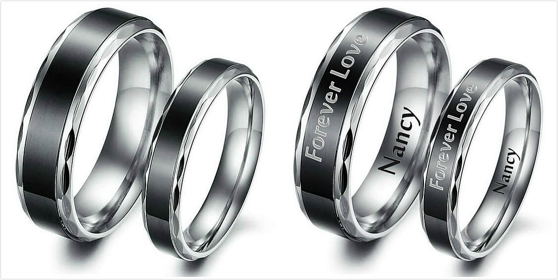 how to engraving on rings