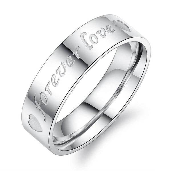 Heart Promise Rings for Couple