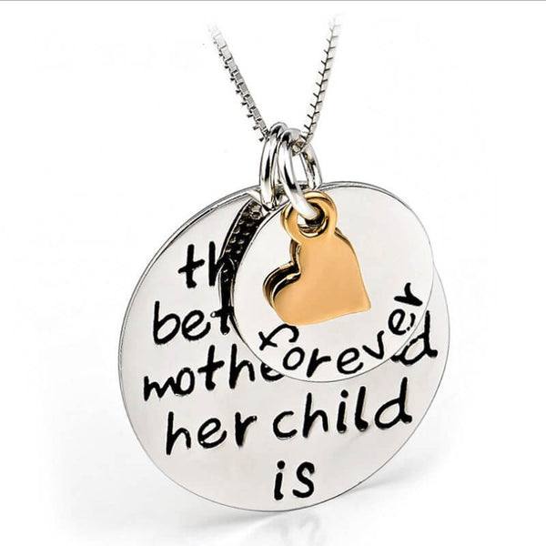 Mom Child's Love Family Necklace