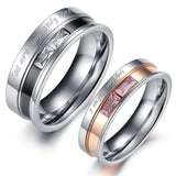 Matching Couple Rings Wedding Band