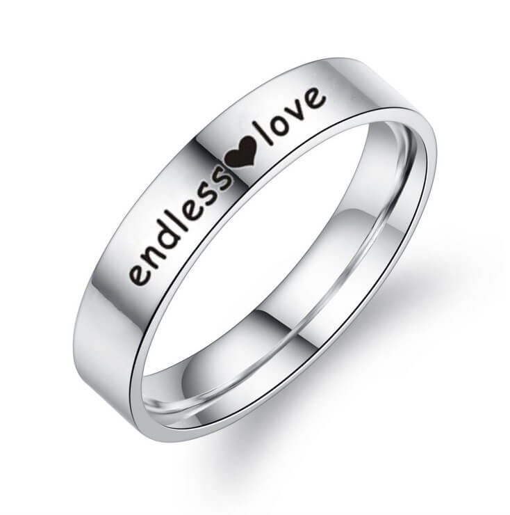 ENDLESS LOVE Couple Promise Rings