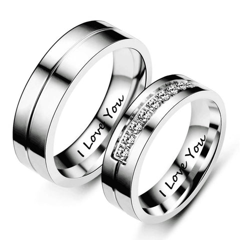His & Hers Matching Ring
