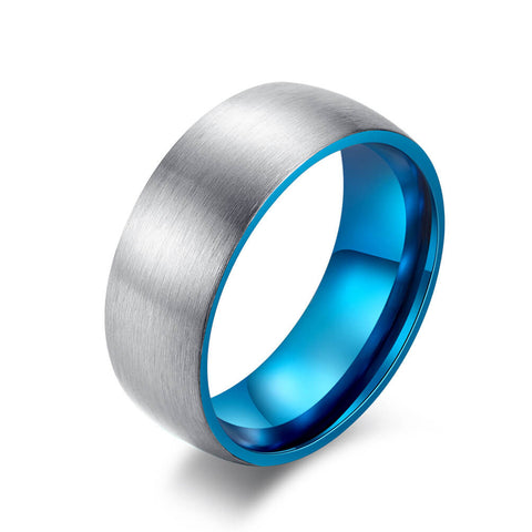 Male Blue Promise Rings