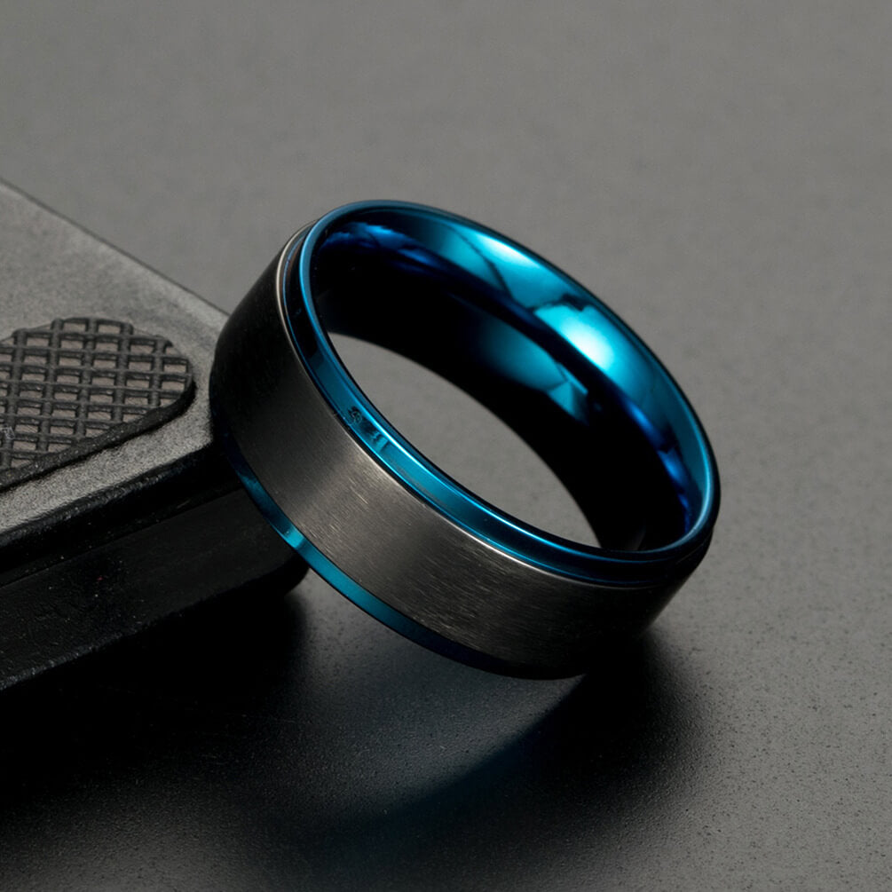 Blue Promise Ring for Men