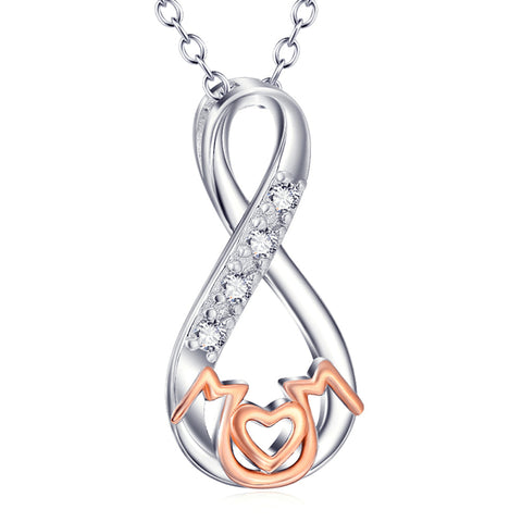 Infinity Mom Necklace